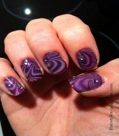 Marble Nail Art 1 Marble Nail Art Designs