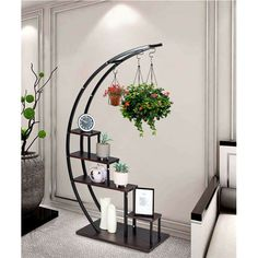 House Plants Decor, Plant Decor, Plant Ladder, Metal Plant Stand, Tiered Plant Stand Indoor, Wooden Plant Stands Indoor, Indoor Plant Shelves, Diy Home Decor, Room Decor
