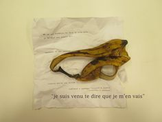 #Banana History #Je suis venu te dire que je m'en vais project Anna Cellamare