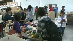 A new report says the number of households in Ontario turning to food banks for the first time has shot up by 20 per cent since last year.
