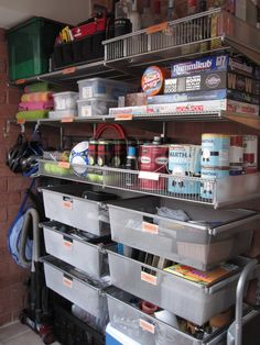 garage organization: Organized Garage www.alejandra.tv