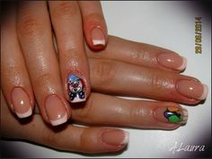 Funny Nails - Model unghii - french model