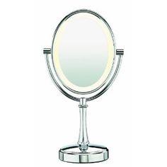 Conair Be117 Chrome Oval Mirror, Chrome (Misc.)  http://www.amazon.com/dp/B004NO6HMY/?tag=goandtalk-20  B004NO6HMY