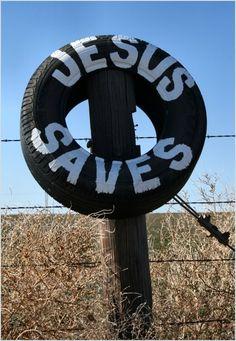 Jesus Saves  (copyright SD Stanton)