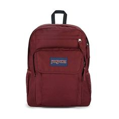 Union Pack is that fully loaded top shelf bag with the padded shoulders and everything. If you're the type with lots of organizing to do, this pack will get it done. Red Backpack, Jansport Backpack, Handbags For School, Purple Orchids, School Backpacks, Getting Things Done, Evening Bags, Laptop Sleeves, Organizing
