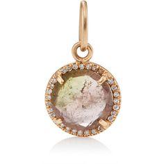 99128a28cf06 Irene Neuwirth Women s Watermelon Tourmaline  amp  White Diamond Pendant  (35.481.760 IDR) · Watermelon TourmalinePendant JewelryGold JewelryNecklace  ...
