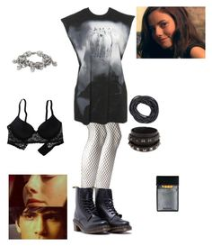Effy Skins 3X05 a good place to hide by effy-stone-m on Polyvore featuring polyvore fashion style Aerie Forever 21 Dr. Martens Alexander McQueen Valentino Effy Jewelry clothing