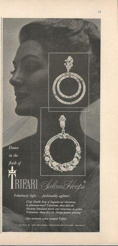 ad_1953_trifari_salome_hoops.jpg (722×1500)