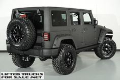 2015 Jeep Wrangler Unlimited Kevlar Coated Lifted Custom Leather