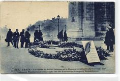 urbitrend-collectables - 1 carte postale France DEP 75 Paris La Tombe Du Soldai Inconnu Et La Flamme, €1.89