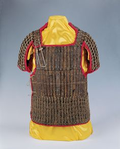 Han Lamellar Armour - Army of the Han dynasty - Wikipedia Lamellar Armor, Sea Peoples, Chinese Armor, Korean Military, Ancient Armor, The Han Dynasty, Age Of Empires, Chinese Design, Arm Armor