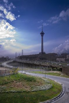 9. Milad Tower  http://www.easyvoyage.co.uk/news/10-places-you-should-visit-in-iran-47591