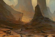 Red land, Victor Hugo Harmatiuk on ArtStation at https://www.artstation.com/artwork/nZ064
