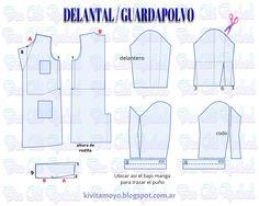 DELANTAL / GUARDAPOLVO