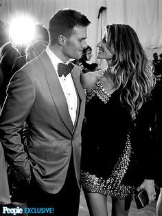 All the world may be looking upon perennial Met Gala couple Tom Brady and Gisele Bündchen, but the pair stays focused on each other.