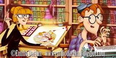 Darlun at work!...trabajando en un nuevo libro...pronto novedades ;) ©Emilio Darlun - www.emiliodarlun.blogspot.com #Ilustracion #Illustration #IlustracionInfantil #infantil #children #childrenillustration #books #picturebooks