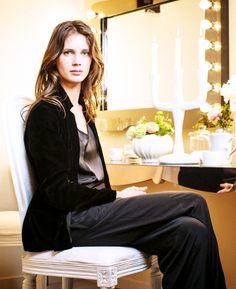 Marine Vacth by Fabrizio Maltese, 2013 Marina Vacth, Francoise Hardy, French Models, French Actress, Velvet Blazer, Bellisima, Style Me, Fashion Outfits, Women's Fashion