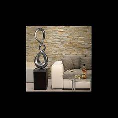 Lack Skulptur Spyro in Silber