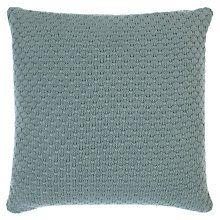 Buy John Lewis Ruben Knitted Cushion Online at johnlewis.com
