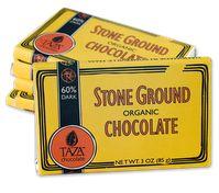 60% direct trade, certified organic, Dominican chocolate from Taza in Boston, MA