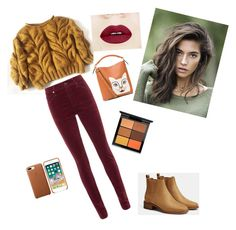 """Untitled #5"" by ioanaingrid-nedelcu ❤ liked on Polyvore featuring rag & bone, Bershka, MAC Cosmetics and Loewe"