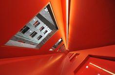 Orange passage by Gerard Jonkman