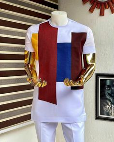 Latest African Men Fashion, African Wear Styles For Men, African Fashion Traditional, African Shirts For Men, Nigerian Men Fashion, African Attire For Men, African Clothing For Men, Couples African Outfits, Best African Dresses