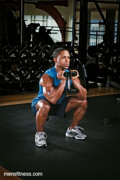Build Muscle Strength and a Better Body With This Dumbbell Workout - Men's Fitness - Page 6