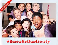 Spread the word to keep Red Band Society on air! #renewredbandsociety #redbandsociety #saveredbandsociety