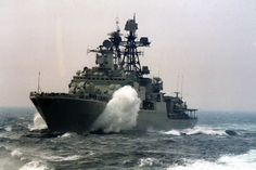 Russian Navy Udaloy Class Destroyer Admiral Tributs 552