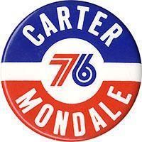 1976 Carter Mondale Bicentennial Logo