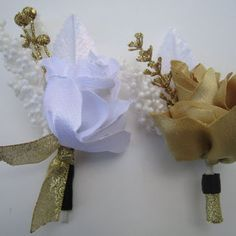 LATEST IN WEDDING BOUTONNIERES | New years Eve wedding accessories boutonnieres Party accessories ...