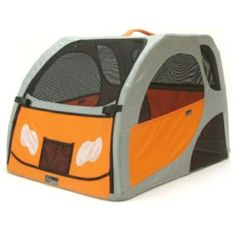 Portable Aluminum Dog House from Frontgate  #places