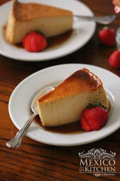 Flan recipe mexican, very easy to make Mexican Dessert Easy, Mexican Flan, Mexican Dishes, Mexican Food Recipes, Sweet Recipes, Mexican Desserts, Mexican Easy, Mexican Style, How To Make Flan