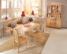 Massivholz-Truheneckbank, Home affaire, »Jütland«, in 2 Größen ab 599,99€. Hochwertige Verarbeitung, Zusätzlicher Stauraum durch integrierte Truhen bei OTTO