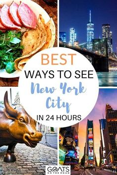 Want to know the best ways to see New York City in 24 hours? We cover the highlights from The Statue of Liberty and Broadway to Times Square, Little Italy, and more. Check out our travel tips and tricks for visiting this stunning USA destination! | #newyorkcity #travelguide #visitUSA Travel Advice, Travel Guides, Travel Tips, Travel Route, Us Travel, Visit Usa, Road Trip Adventure, Little Italy, United States Travel