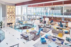 Mediterranean flair at its best in the cool hotel lobby area Hotel Lobby, 4 Star Hotels, Best Hotels, Restaurant, Next Holiday, Cool Stuff, Personal Style, Architecture