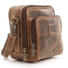 Gillis Trafalgar Hands Free Leather Camera Bag | Harrison Cameras