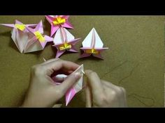 kusudama - origami daily
