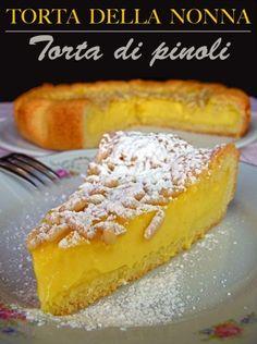 Torta della Nonna. Fav Italian desert
