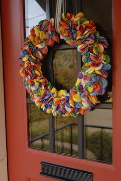 the third boob: diy: happy birthday balloon wreath tutorial