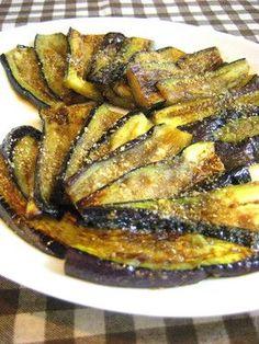 Our pan-fried yaki nasu . . .ウチの焼きナス by makoto♪ [クックパッド] 簡単おいしいみんなのレシピが137万品