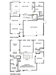 Woodside Homes Floor Plans david weekley homes - lake nona fl | f l o o r p l a n s