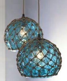 Idea for beach house lighting.... <3