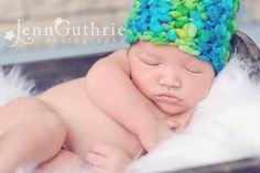 Handspun One of a Kind beanie by My Simply Sweet Little Boutique www.facebook.com/MSSLB  Photo by: Jenn Guthrie Photography  http://www.facebook.com/jennguthriephotography