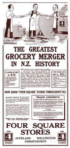 It's the greatest grocery merger in N.Z. history!