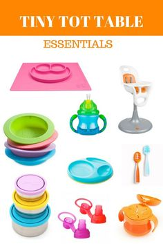 MEAL TIME MUSTHAVES FOR BABY AND TODDLER  Tinytot tableware | eastonandeverly.com