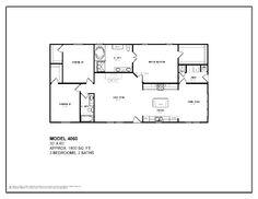 30 39 x 22 39 floor plans 30x40 house plans home plans for House plans monroe la