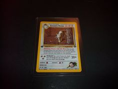 POKEMON GIOVANNI'S PERSIAN 8/132 1ST EDITION HOLOGRAPHIC TRADING CARD