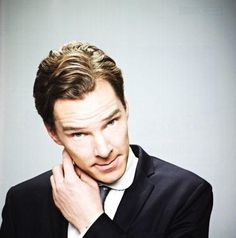 Benedict Cumberbatch scratching his ear. This man makes even the most mundane things look as thought they were the most  interesting and sophisticated thing ever to be invented.
